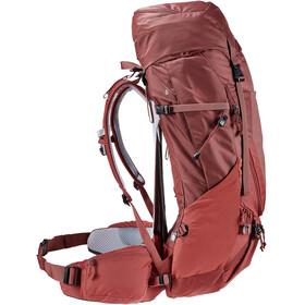 deuter Futura Air Trek 45 + 10 SL Backpack Women redwood/lava